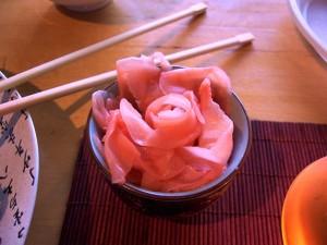 Как сделать имбирь розовым в домашних условиях