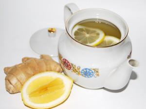 тибетский чай с имбирем